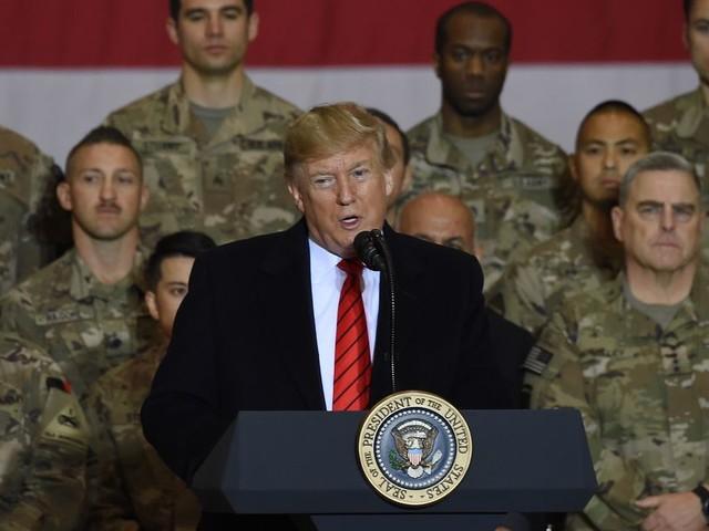 Trump en visite surprise en Afghanistan pour Thankgiving