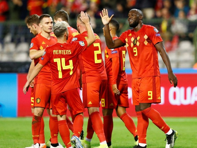 Neuf sur neuf pour la Belgique