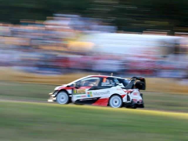 Rallye d'Allemagne: Tänak intouchable à deux spéciales du but