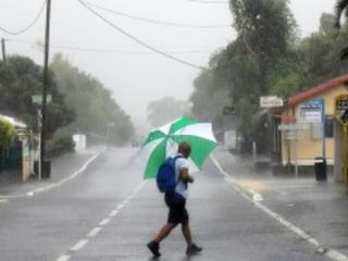 L'est, le sud-est et le nord de l'île en vigilance fortes pluies