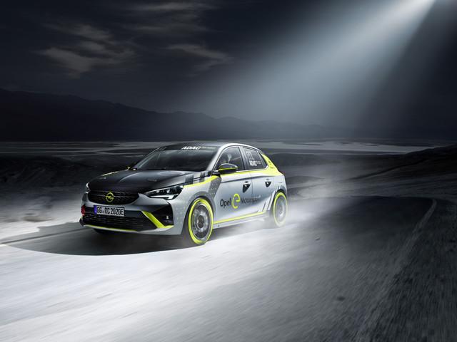 L'Opel Corsa-e Rallye, les photos cette voiture de course 100 % électrique