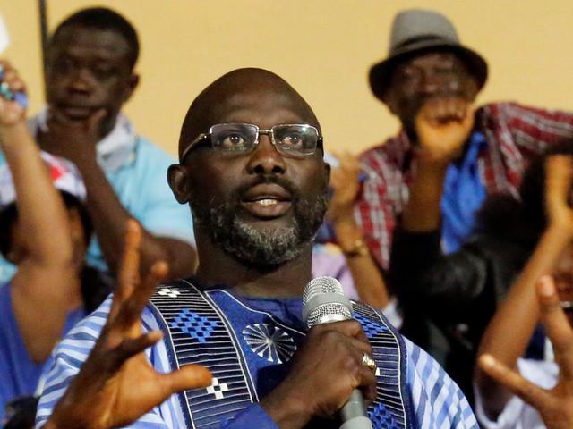 L'ancienne star du football George Weah élu président du Liberia