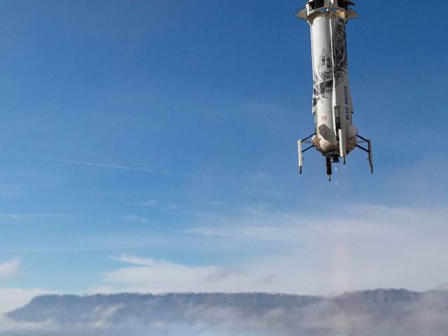 New Shepard : une mission pour préparer les atterrissages lunaires de la Nasa