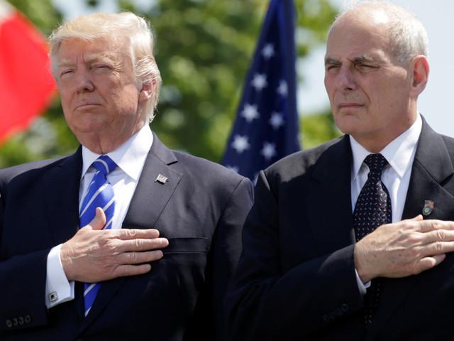 John Kelly est censé mettre fin au chaos qui règne à la Maison blanche, alors que c'est Trump qui en est la source principale