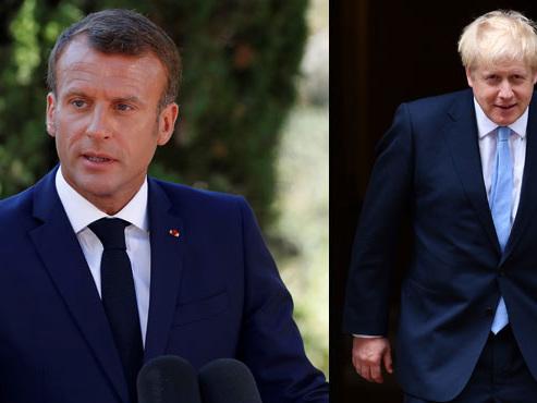 Macron attend Boris Johnson de pied ferme et annonce la couleur sur le sujet explosif du Brexit