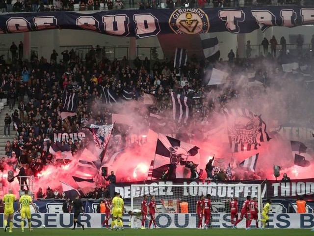 Girondins : 45 000 € d'amende pour usage de fumigènes