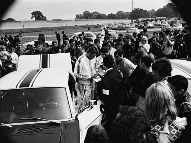 La Ford Mustang de Johnny Hallyday en vente