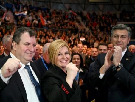 Croatie: la présidente sortante doit convaincre la droite dure face à la gauche