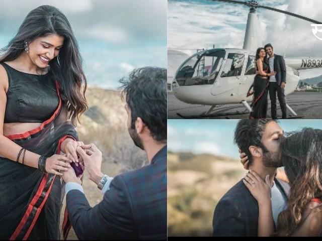 हेलिकॉप्टर प्रवास आणि बरंच काही.. रसिका सुनीलचं फिल्मी प्रपोजल
