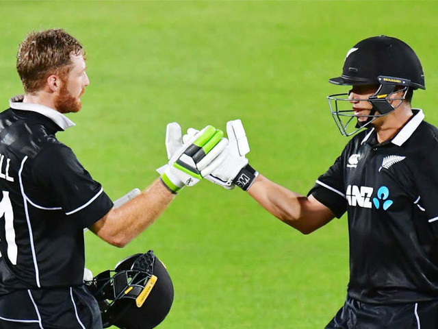 Guptill century secures ODI series for New Zealand