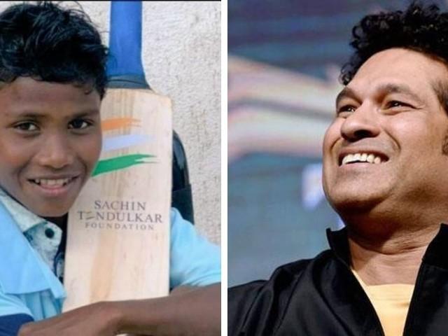 क्रिकेटच्या देवाने 'त्या' क्रिकेट फॅनला दिले 'स्पेशल' गिफ्ट!