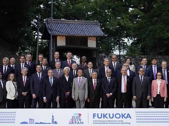 G-20 talks trade, finance as Japan readies for Osaka summit