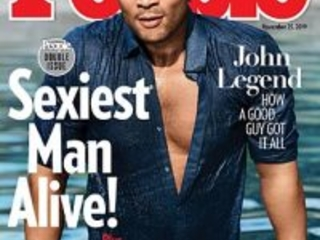 John Legend named 'Sexiest Man Alive' by People Magazine