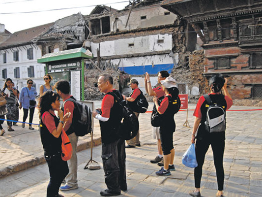 Tourist arrivals up by 33.8pc