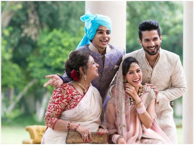 Neelima Azeem on Mira, Shahid, Ishaan