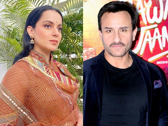 Kangana on Saif's 'No concept of India' comment