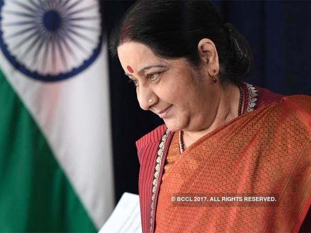 Sushma Swaraj, Chinese Foreign Minister discussed Siang river issue