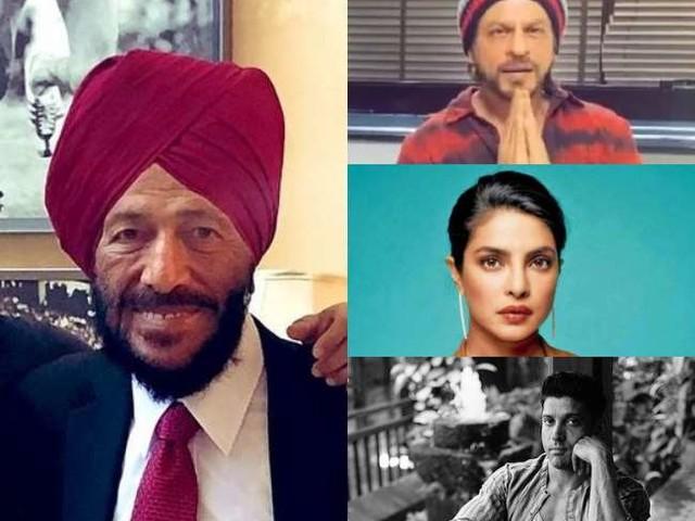 Milkha Singh Death: शाहरुख खान-फरहान अख्तर सहित स्टार्स ने मिल्खा सिंह के निधन पर जताया शोक, प्रियंका चोपड़ा ने याद किया पहली मुलाकात
