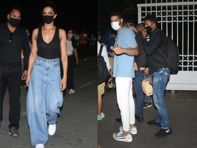 Photos: Deepika returns from Alibaug