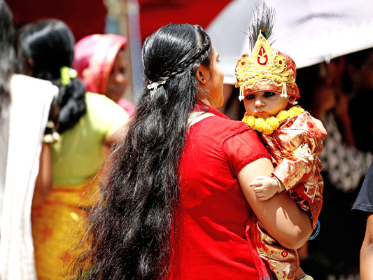 Krishna Janmasthami being observed today