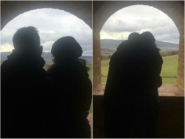 Pic: Anushka Sharma and Virat Kohli enjoy the beautiful landscape of Tuscany post-marriage