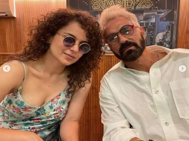 Arjun Rampal ने रैपअप किया अपना 'धाकड़' का शेड्यूल, तस्वीरें शेयर कर कंगना रनोट से मांगी माफी