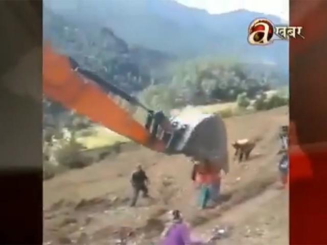 Seven injured as digger driver smash in Baitadi