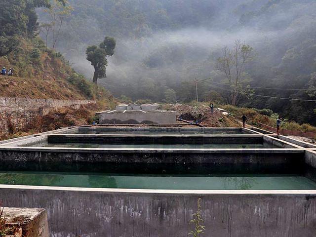 Lamjung's biggest drinking water project provides relief to Besisahar residents