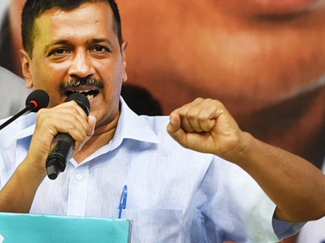 Those dividing nation on religious terms are not its well-wishers: Kejriwal