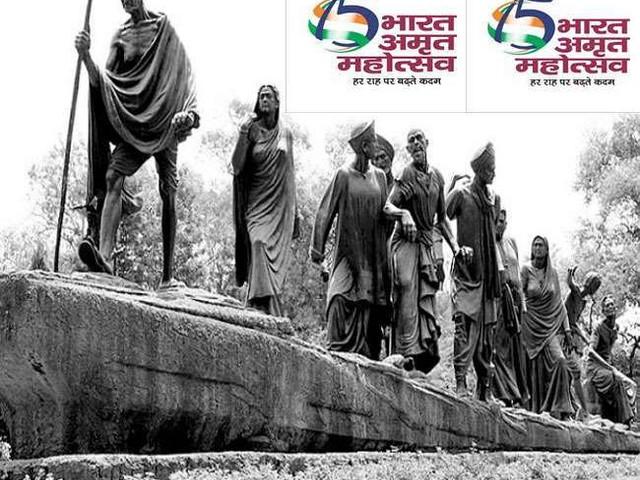स्वतंत्रता के 75वें साल के जश्न के लिए जारी पोस्टर में पूर्व PM नेहरू की तस्वीर को लेकर सियासत, ICHR ने विपक्षी आलोचना को किया खारिज