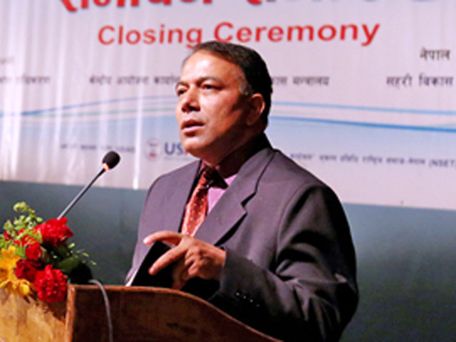 Sushil Gyawali appointed CEO of National Reconstruction Authority