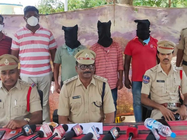 Three held in Asifabad on charges of electrocuting hunters