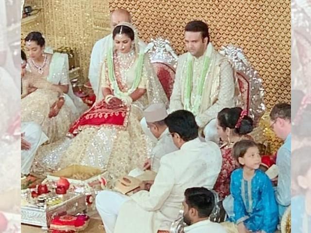 First pictures: Isha Ambani and Anand Piramal tie the knot in Mumbai