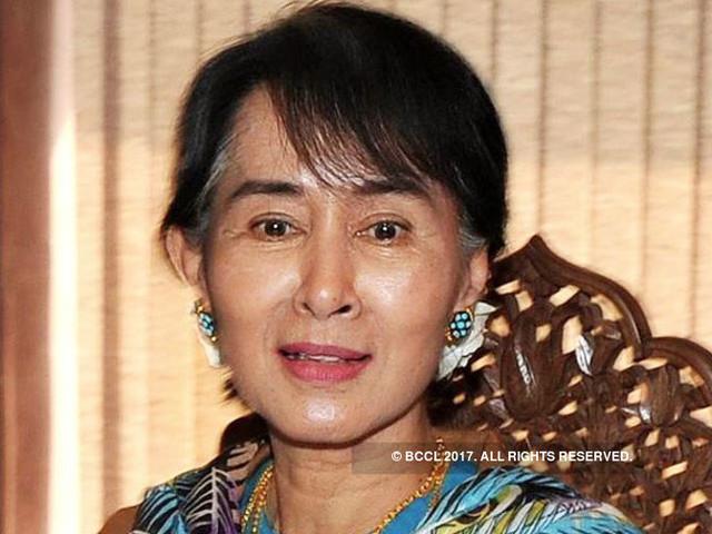 As Rohingya flee violence, Myanmar's Suu Kyi skips UN meet