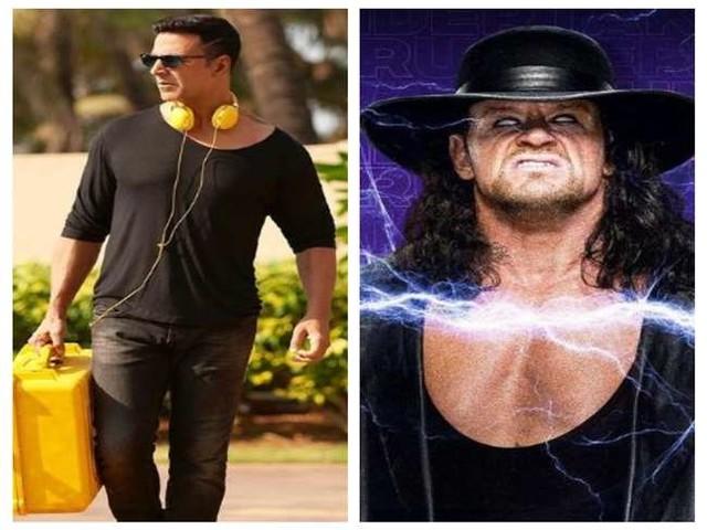 The Undertaker ने दी अक्षय कुमार को रियल रीमैच की चुनौती, अभिनेता ने कहा- 'मुझे अपना बीमा चैक करने दो'