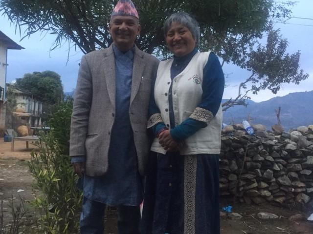 Baburam Bhattarai dons Daura-Suruwal, Kamal Thapa 'loved it'
