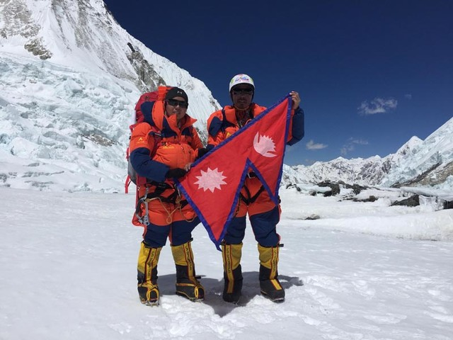 Sherpa, Tamang become first couple to make most ascents of Mt Everest
