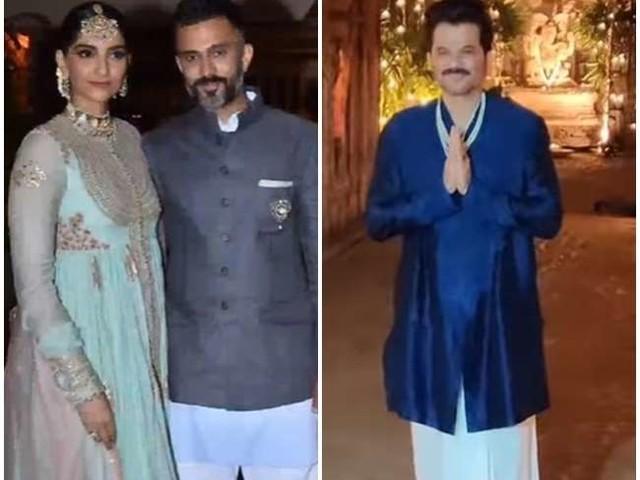 बेटी की शादी के बाद अनिल कपूर ने बांटी मिठाई, पति आनंद अहूजा के साथ इस अंदाज में नजर आईं सोनम कपूर