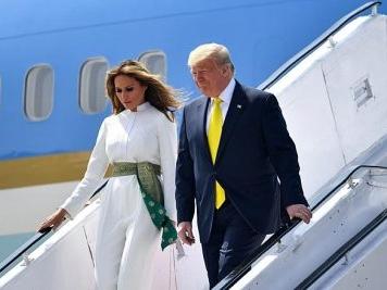 Namaste Trump: US President Donald Trump arrives in Ahmedabad