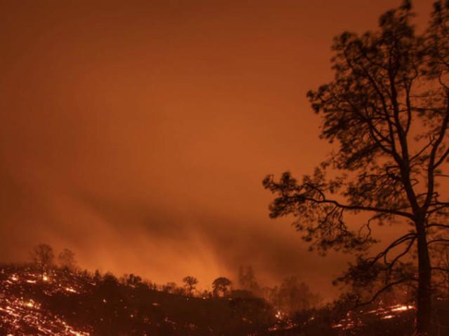 Heat, winds pose enduring menace to burning Northern California