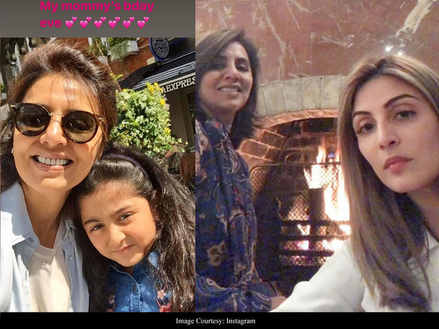 Riddhima shares doting photos of mom Neetu