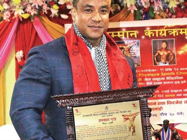 Maharjan honoured