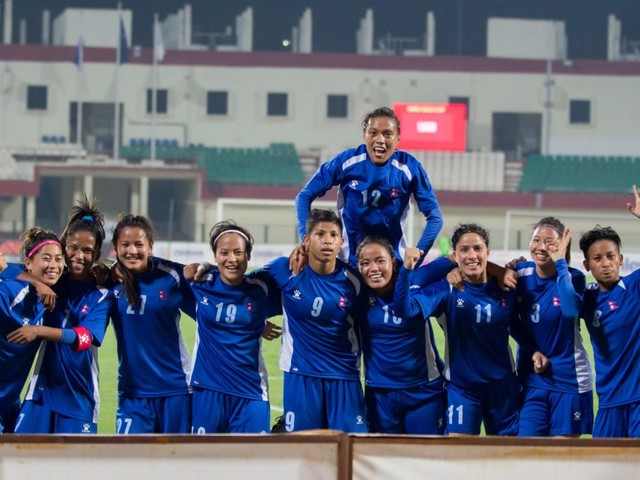 Nepal go down to Myanmar, again