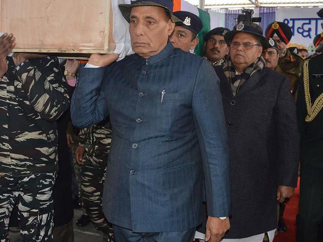 Pakistan patronising terrorism, Pulwama attack an act of frustration: Rajnath