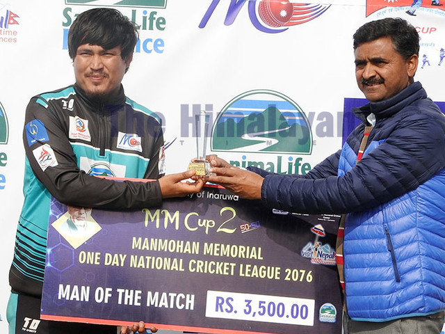 Spinner Binod Lama shines in Sudurpaschim win, enter semis
