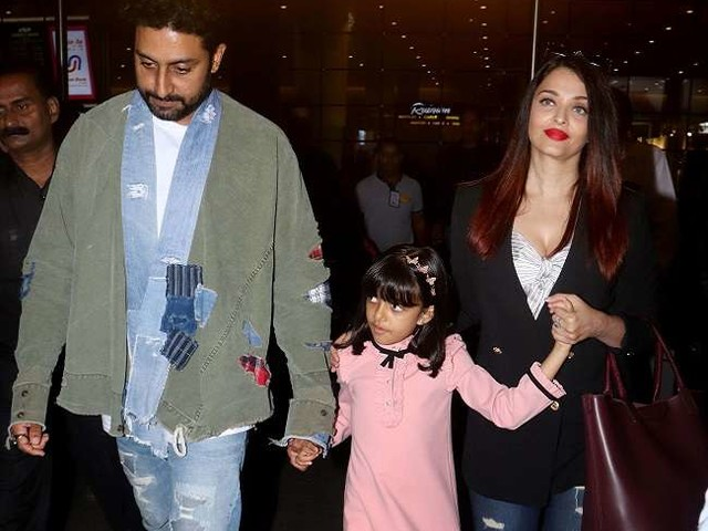 आराध्या और ऐश्वर्या संग नये साल की छुट्टियां मनाकर मुंबई लौटे अभिषेक बच्चन, देखें लेटेस्ट तस्वीरें