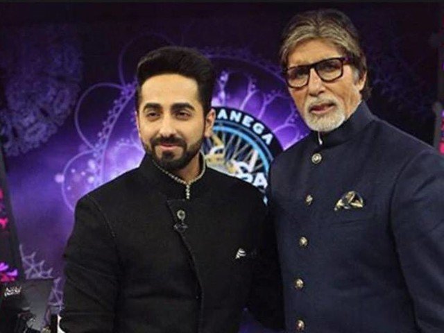 Ayushmann Khurrana opens up about working with Amitabh Bachchan