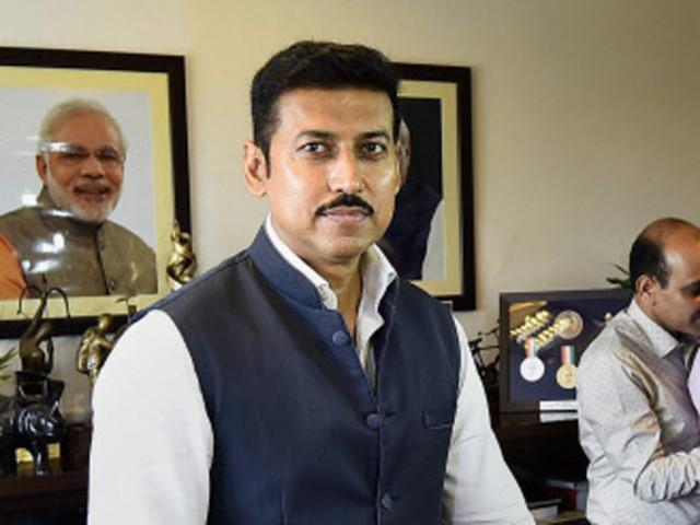 A massive overhaul of sporting system is underway: Sports minister Rajyavardhan Singh Rathore