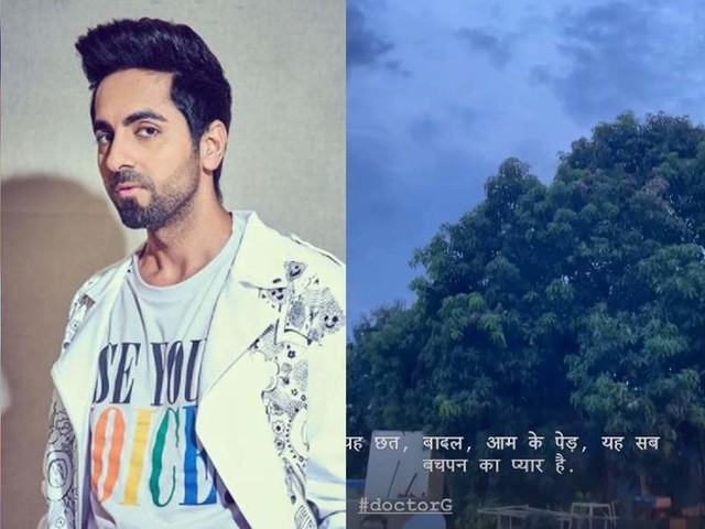 Ayushmann reminisces about his 'childhood love'