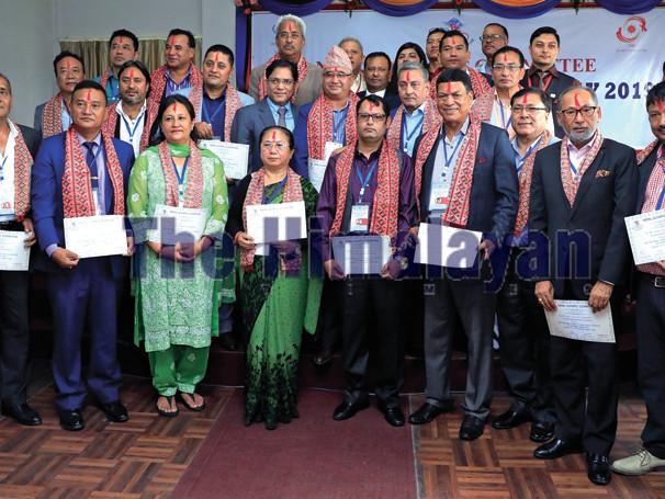 Shrestha re-elected as NOC Prez